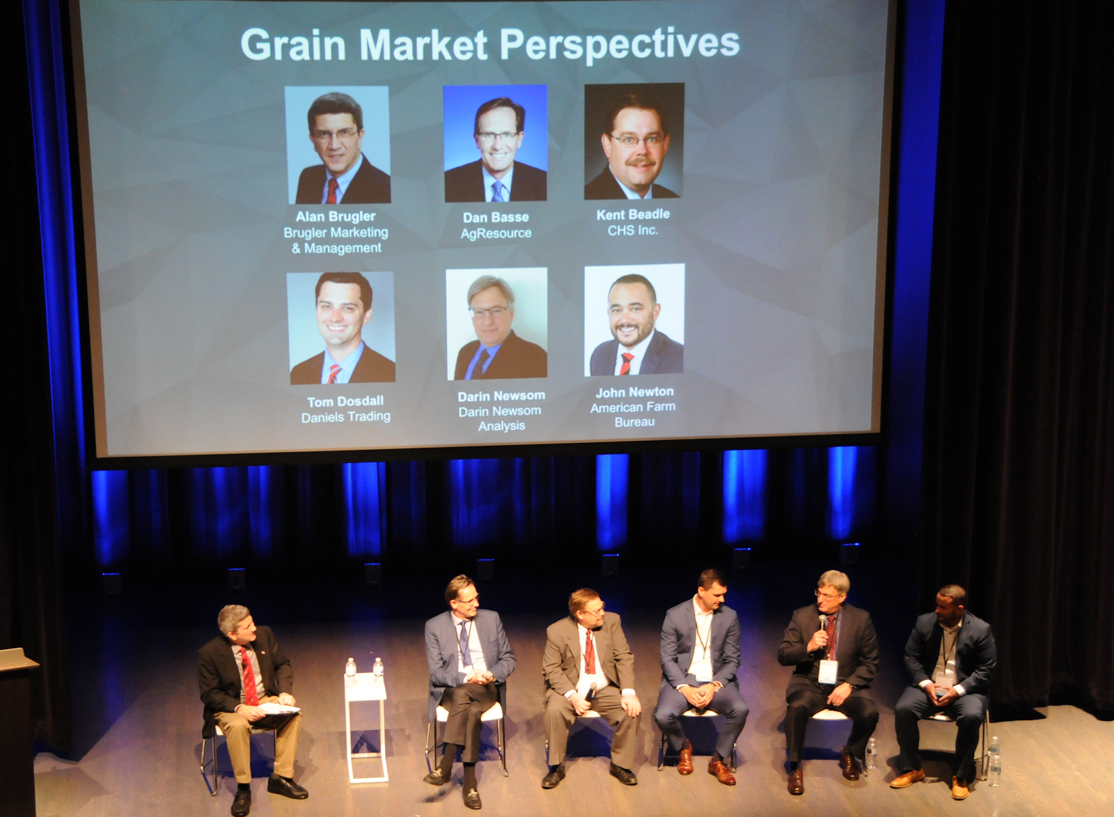 Global Agriculture Conference cmdtyExchange Grain Market Perspectives Panel