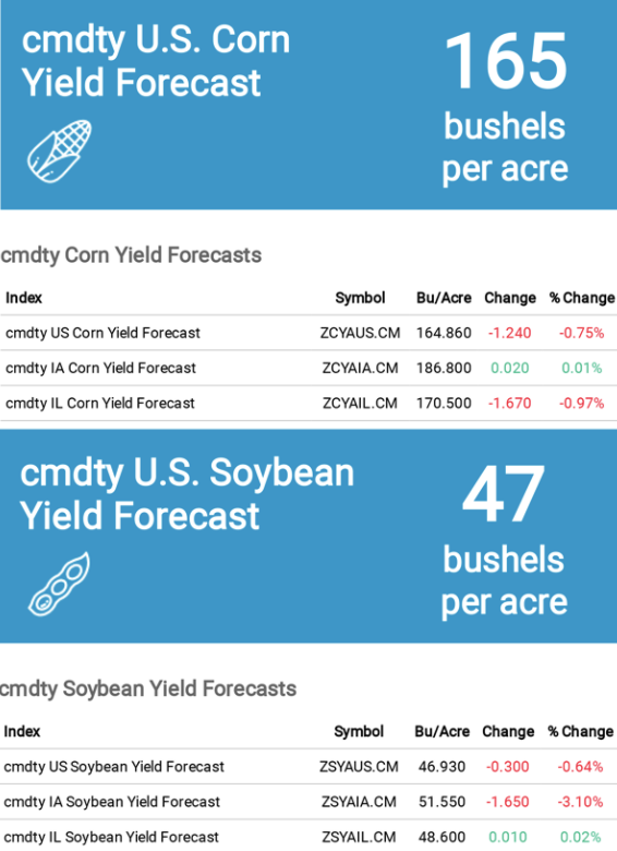 US Corn and Soybean