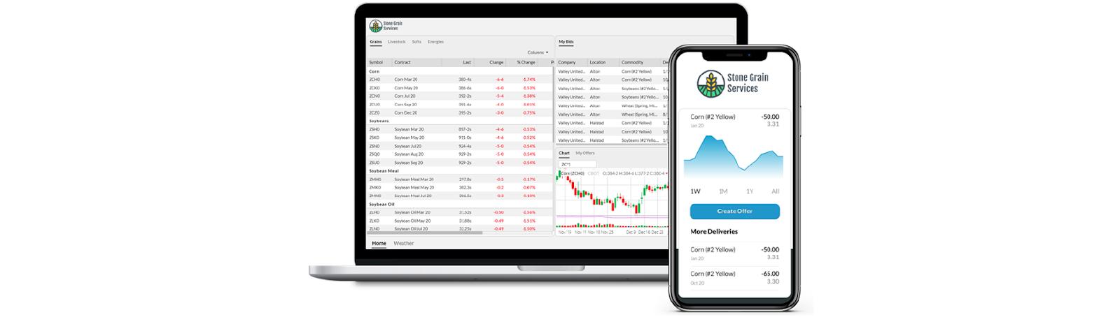 Grain Marketplace Apps