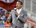 FILE - In this July 11, 2017, file photo, former baseball player Alex Rodriguez reports from the field during the MLB baseball All-Star Game in Miami. The first increment of the $1.5 billion sale of the Minnesota Timberwolves to e-commerce mogul Marc Lore and retired baseball star Alex Rodriguez has been formally approved by the NBA. The Timberwolves issued a statement Wednesday, July 21, 2021, confirming the transaction and welcoming Lore and Rodriguez to the organization. The deal, which also includes the WNBA franchise Minnesota Lynx, was first reached between current owner Glen Taylor and Lore and Rodriguez this spring and was structured to begin with an initial transfer of a 20% stake in the club this year. (AP Photo/Lynne Sladky, File)